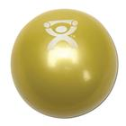 Cando Plyometric Weighted Ball, Yellow, 2.2 lbs, 1008993 [W40121], Веса