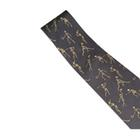 Skeletons Playing Sports Necktie, Grey - Silk, 1005521 [W41062], Узлы и замки
